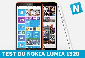 Test du Nokia Lumia 1320