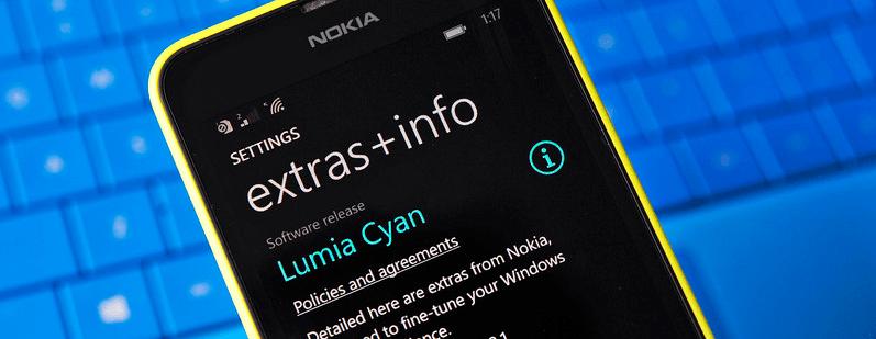 La mise à jour Lumia Cyan améliorera les performances en basse luminosité des Lumia 930 et 1520
