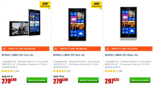 Vente flash nokia lumia 925 279 99 chez cdiscount nokians la parol - Vente flash c discount ...