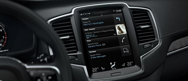 Volvo HERE Sensus Connect
