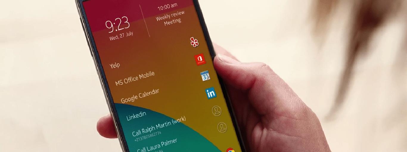 Mise à jour du Nokia Z Launcher pour Android