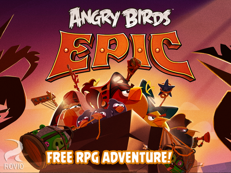 [Jeux] Angry Birds Epic disponible gratuitement sur Windows Phone