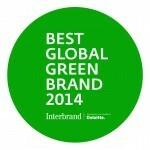 Interbrand's 2014 Best Global Green Brands