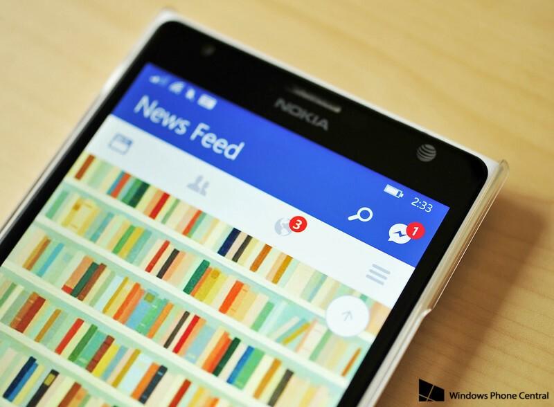 [Lumia] Mise à jour de Facebook Beta et intégration de Messenger