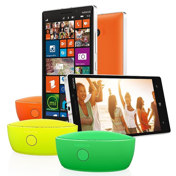 [Offre] Jusqu'à 40€ remboursés pour l'achat d'un Nokia Lumia 4G et d'une enceinte Nokia MD-12