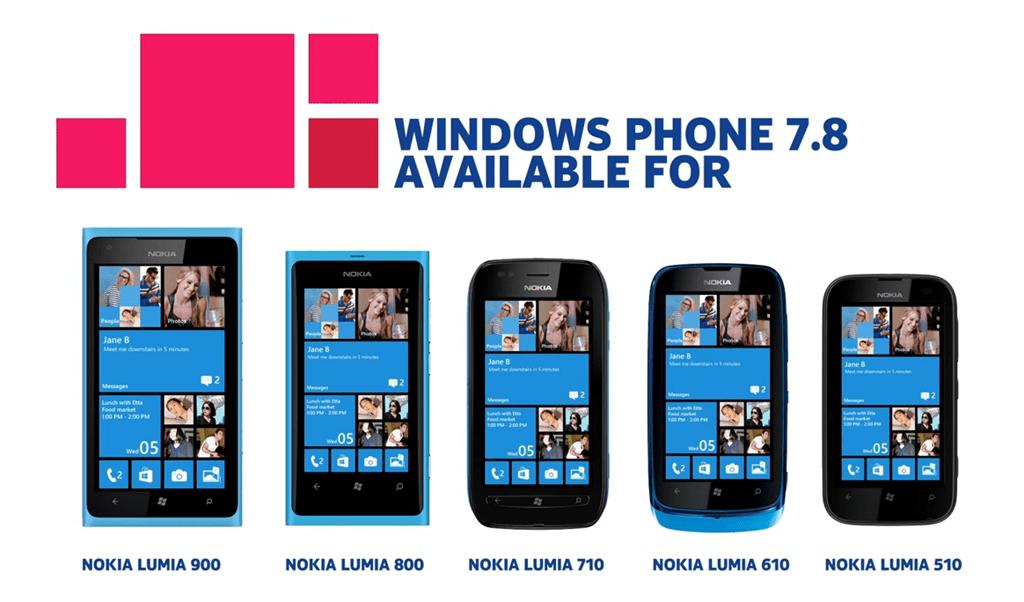 Microsoft étend le support de Windows Phone 7.8 de quelques semaines