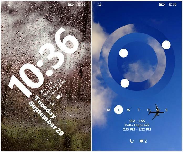 Les écrans de verrouillage de Windows Phone 8.1 bientôt disponibles en beta publique