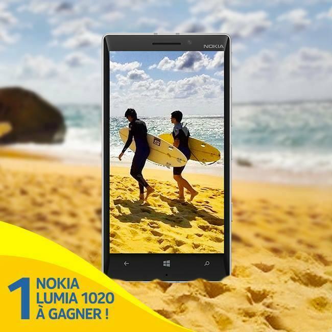[Concours] 3 Nokia Lumia 1020 à gagner sur Instagram