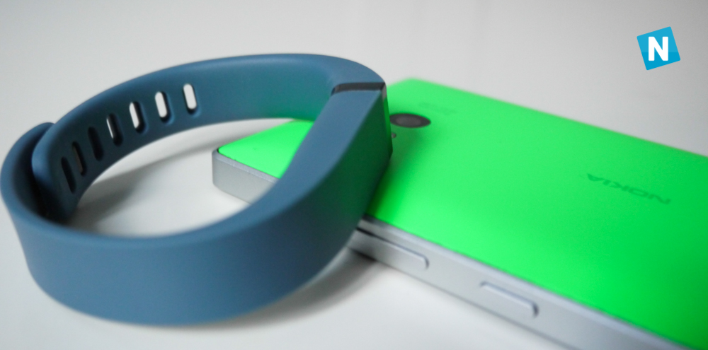Test du bracelet Fitbit Flex et de son application Windows Phone