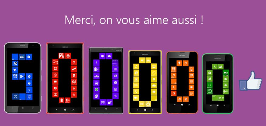 [Concours] Tentez de gagner un Lumia 625, 630, 635, 925, 930, 1020 ou 1320 avec Windows Phone France