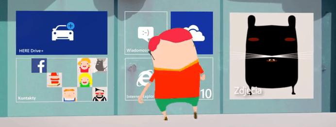 [Vidéo] Microsoft dévoile une nouvelle taille de vignette dans une pub polonaise