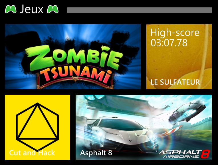 [WP8.1 Update 1] Astuce : Dossiers Dynamiques
