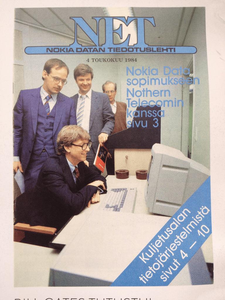 Il y a 30 ans, Bill Gates essayait l'un des derniers ordinateurs personnels Nokia