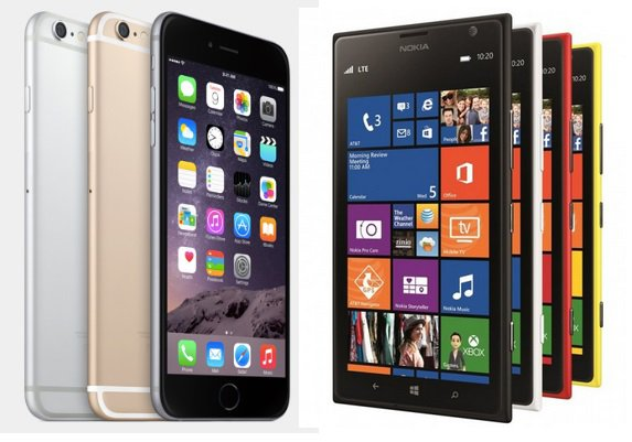 [Comparaison] iPhone 6 Plus vs Lumia 1520