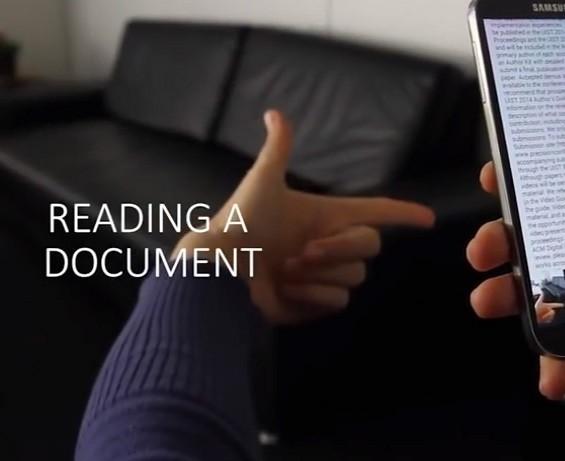[Concept] De nouveaux gestes 3D avec votre smartphone