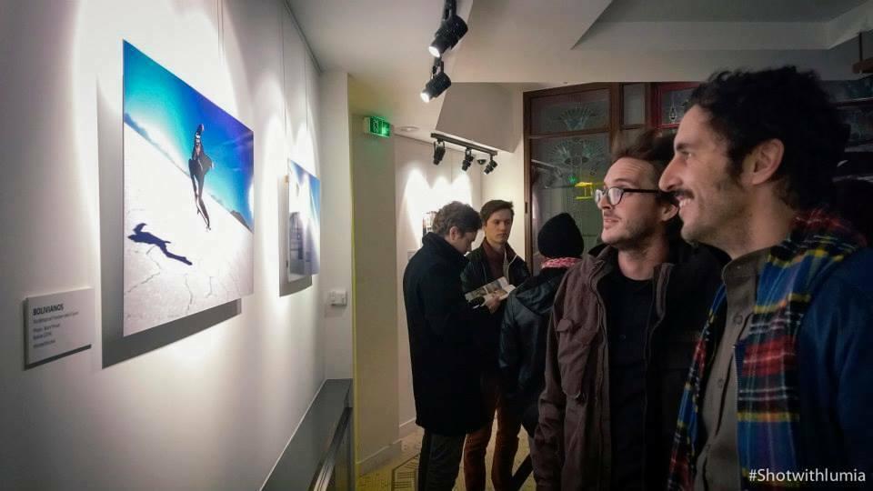 Projection Lumia Pureviews au cinéma le Louxor jeudi dernier