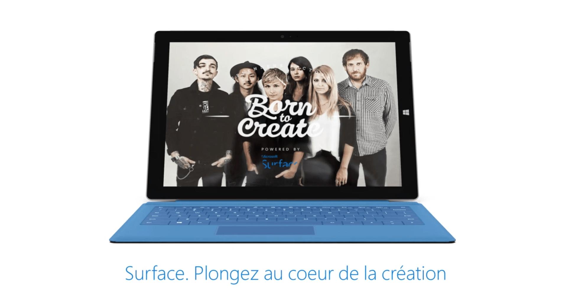 [Vidéos] Découvrez BornToCreate par Microsoft