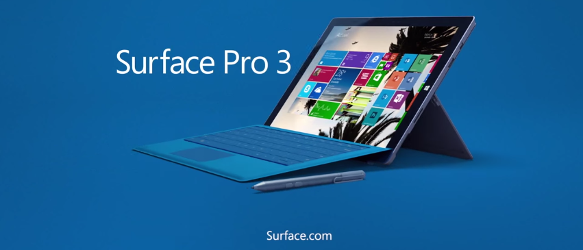 [Pub] Nouvelle pub pour la Surface Pro 3