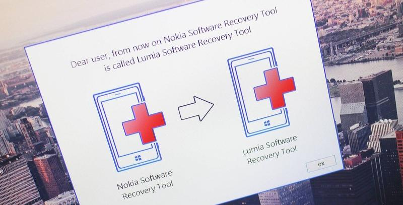 Mise à jour de Lumia Software Recovery Tool en version 5.0.5