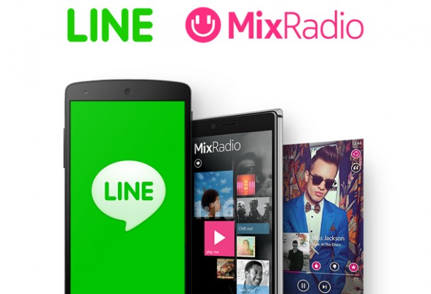 LINE-and-MixRadio_feat