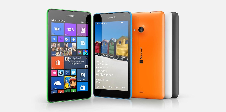 Microsoft Lumia 535 disponible en 5 coloris sur le Microsoft Store