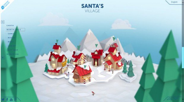 Les utilisateurs de Windows Phone pourront suivre la tournée du Père Noël en Live