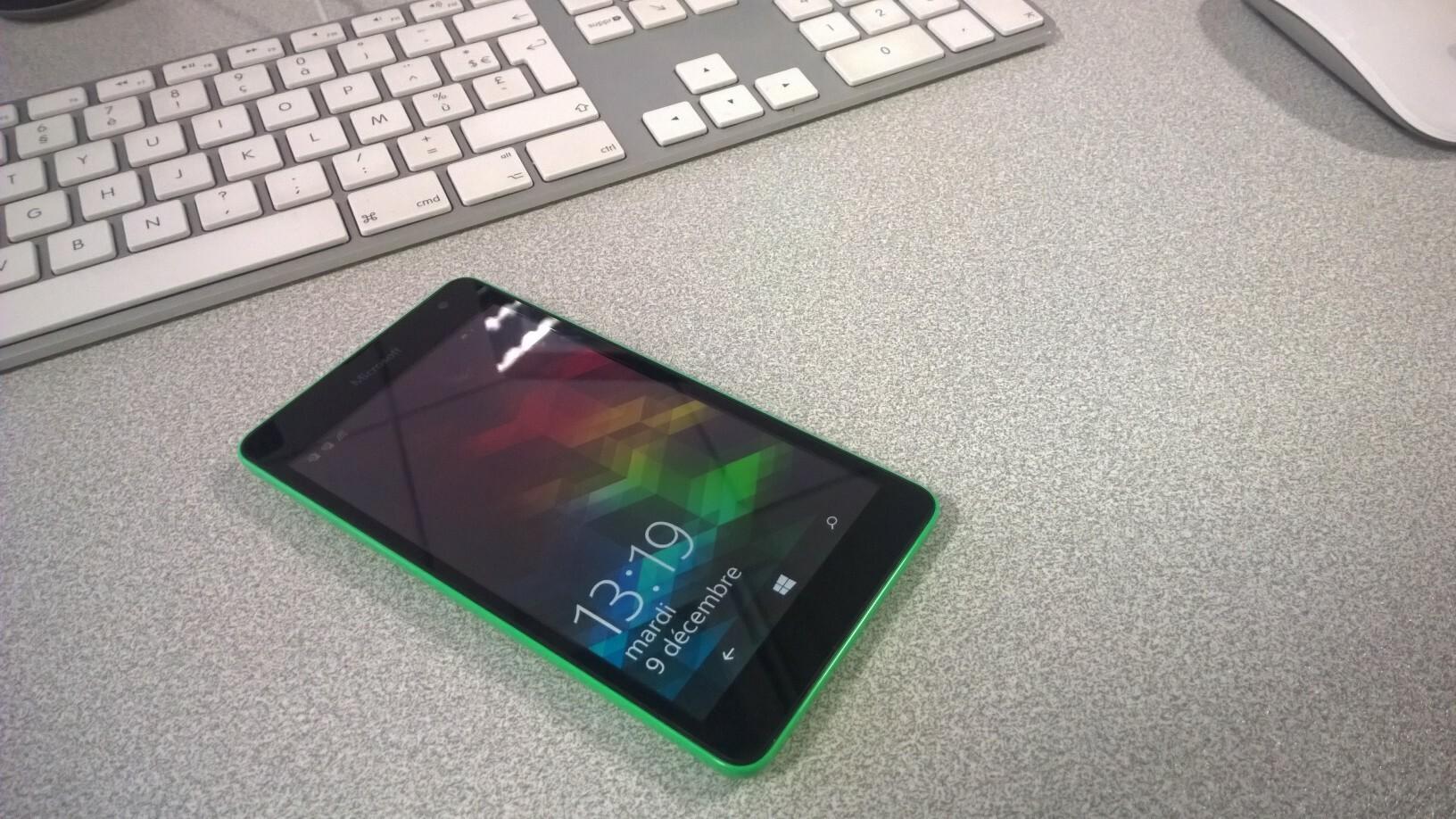 [Test] Test du Lumia 535, le premier Lumia de la marque Microsoft