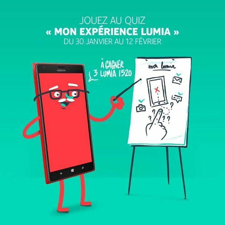 [Concours] 3 Nokia Lumia 1520 à gagner sur la page Facebook de Lumia