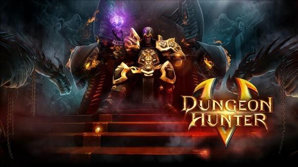 Dungeon Hunter 5 banner