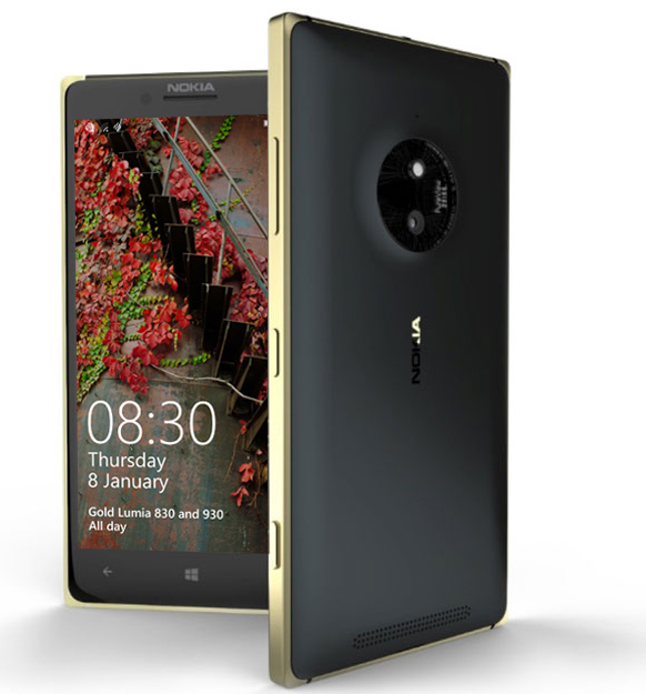 Lumia 830 Gold disponible chez Orange