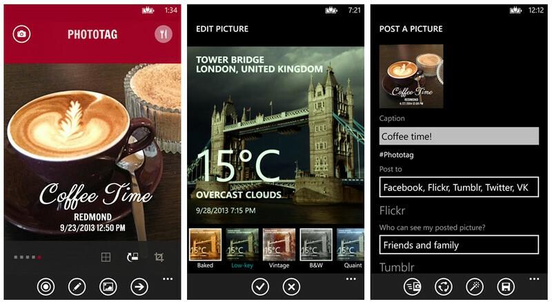 [App] Découvez Phototag pour personnaliser vos photos avec style