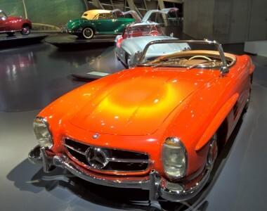 Visite du musée Mercedes-Benz de Stuttgart avec le Lumia 930