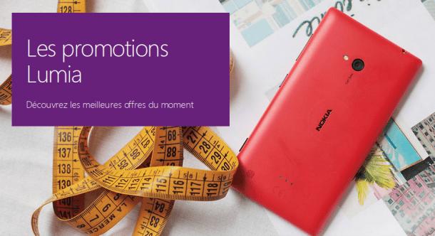 Offres Microsoft Lumia