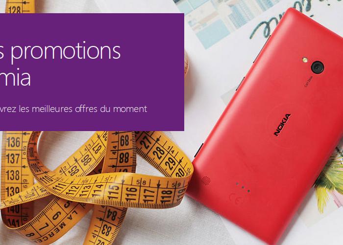 Ne ratez jamais les promotions Microsoft Lumia !
