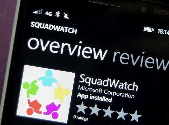 SquadWatch : «People Sense» ou comment indiquer facilement à vos proches le lieu où vous êtes !