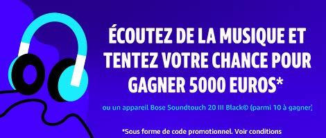 [Concours]  Ecoutez de la musique gratuitement et tentez de gagner 5000€