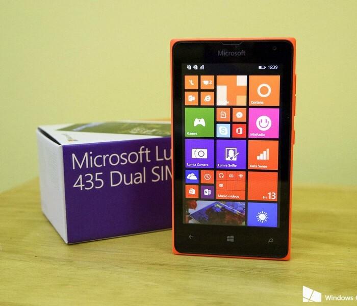 [Promo] Lumia 435 à seulement 59€90
