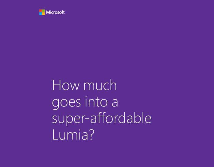 [Teasing] Un nouveau Windows Phone d'entrée de gamme annoncé demain ?