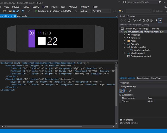 [Développement] Band Studio pour Visual Studio disponible gratuitement