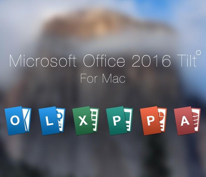 [App] Office pour Mac disponible gratuitement en preview