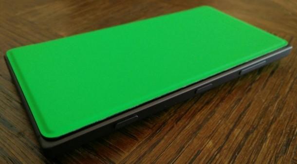 Étui à rabat avec chargement sans fil pour Lumia 830_3