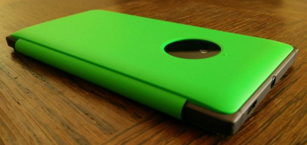 Étui à rabat avec chargement sans fil pour Lumia 830_2