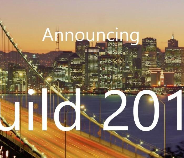 [Live] Suivez la conférence BUILD en live sur le blog !