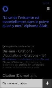 Cortana Citation