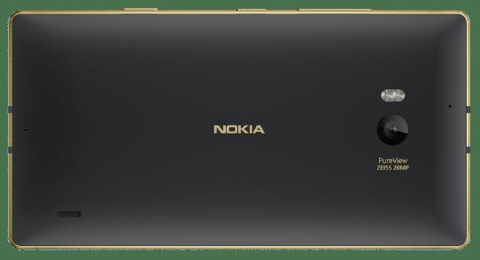 Microsoft Lumia 930 noir et or Swisscom 2