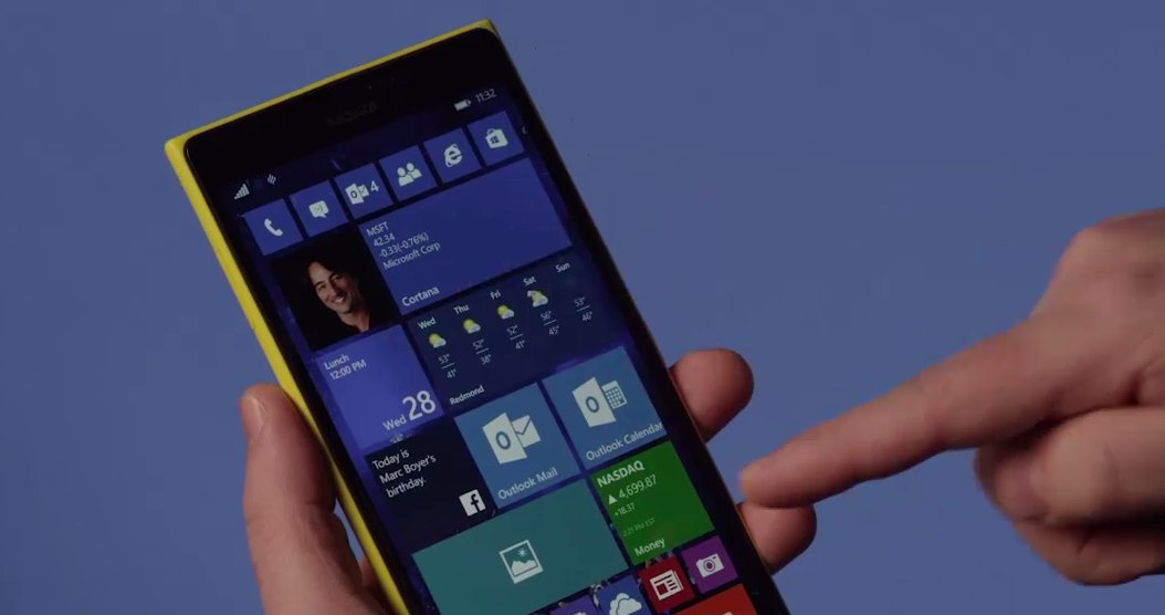 Windows Phone 10 mise à jour bloqué l'installation