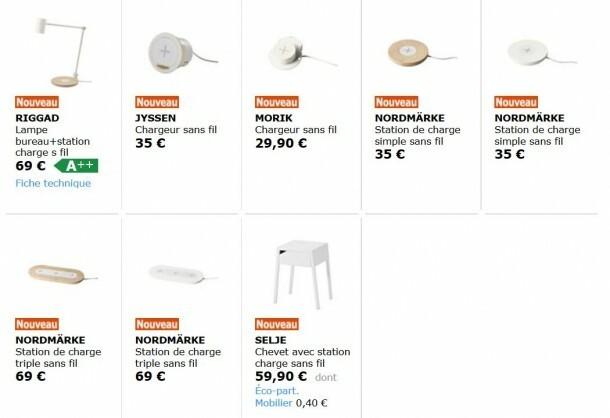 Ikea Meubles A Chargement Sans Fil Deja Disponibles Nokians