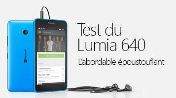 Test du Lumia 640