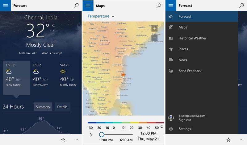 App] Les nouvelles applications universelles MSN disponibles