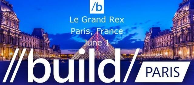 Microsoft BUILD Paris 2015